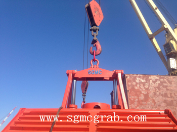 Motor Hydraulic Grab Bucket
